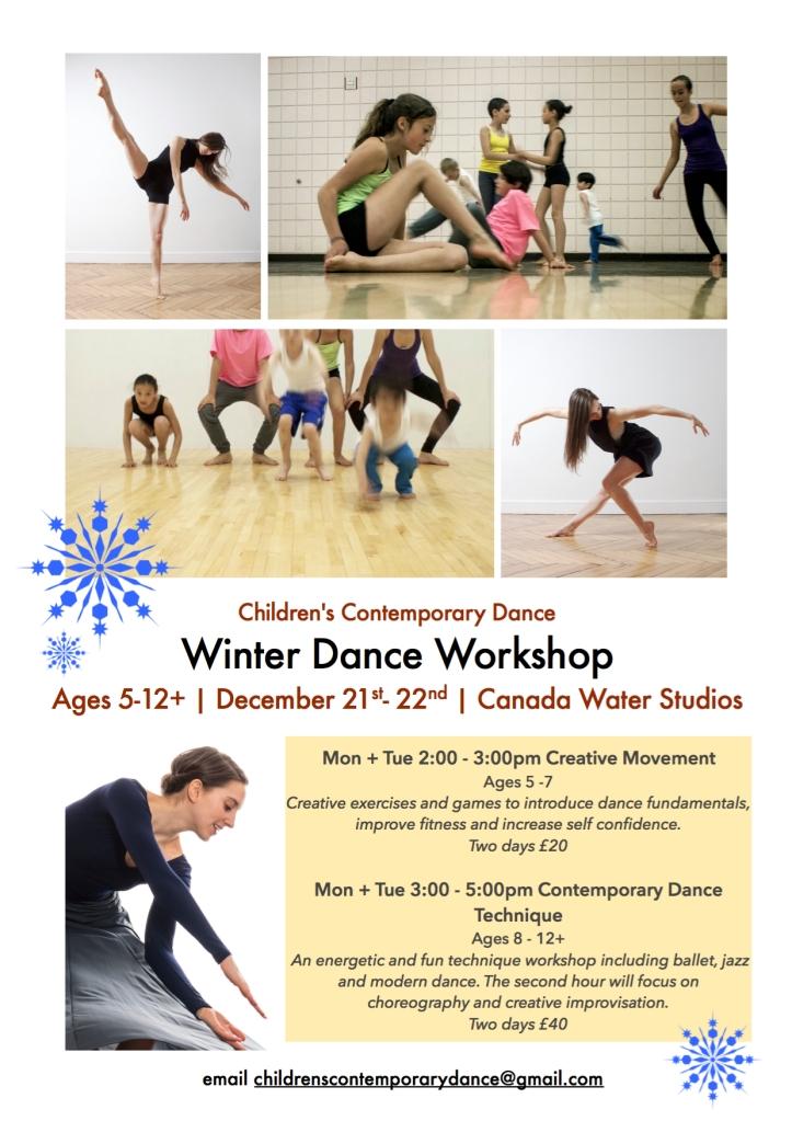 winter dance workshop