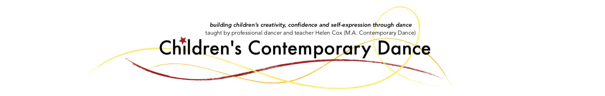 Children's Contemporary Dance